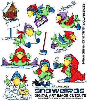 Snowbirds Clipart