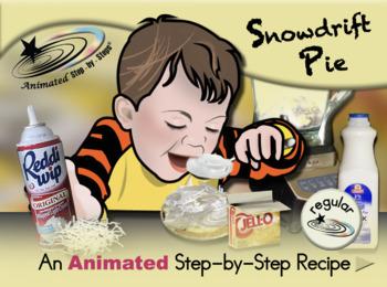 Snowdrift Pie - Animated Step-by-Step Recipe