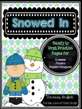 Snowed In {Ready to Print Winter Themed Printables}
