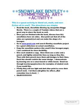 Snowflake Art - Math Symmetry