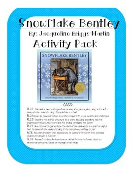 Snowflake Bentley Activity Pack