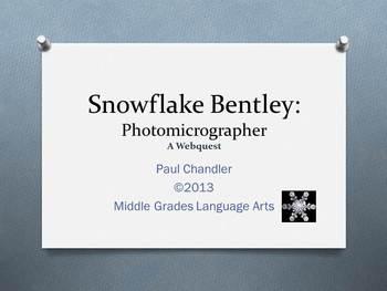 Snowflake Bentley Webquest