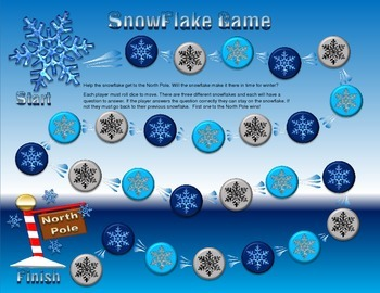Snowflake Board Game