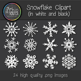 Snowflake Clipart - Winter Clip Art