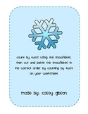 Snowflake Count by 2's