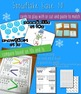 Snowflake Math - 1st- Winter Math Centers and Activities {