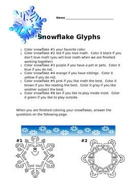 Snowflake Math Glyph