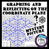 Snowflake Mystery Picture - Graphing and Reflecting on the
