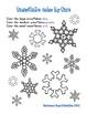 Snowflake PreK Mini Printable Pack