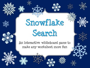 Snowflake Search: A convenient and versatile game for inte