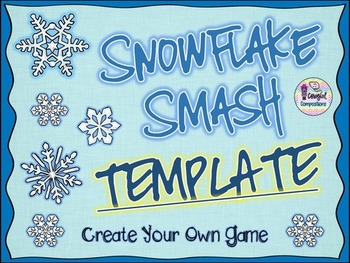 Snowflake Smash Template - Create Your Own Game