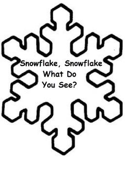Snowflake, Snowflake What Do You See (Winter, Autism, Speech)