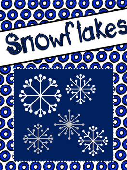 Winter: Informative Text on Snowflakes and Questions for t