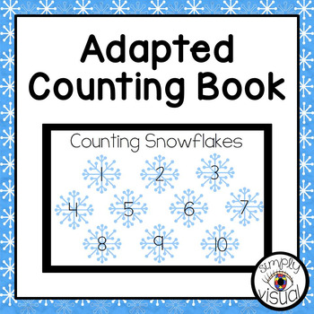 Snowflakes Adapted Counting Book