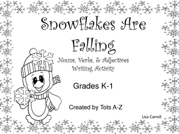 Winter Nouns, Verbs, and Adjectives