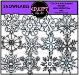 Snowflakes Clip Art Bundle