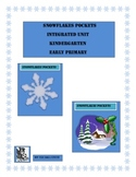 Snowflakes Pockets. Integrated Unit. Kindergarten. Early Primary