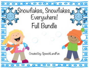 Snowflakes, Snowflakes, Everywhere! Winter Activities- FUL