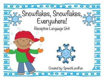 Snowflakes, Snowflakes, Everywhere! Winter Activities -Rec