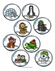 Snowglobe Rhyming Activity - Match the Rhyming Words File