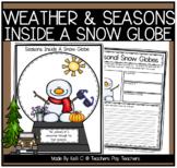 Seasons and a Snowman Snowglobe Writing