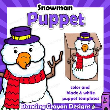 Puppet Snowman Craft Activity