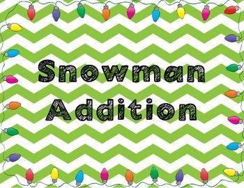 Snowman Addition