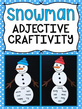 Snowman Adjective Craftivity