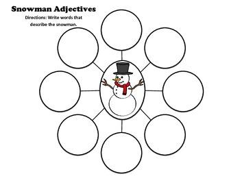 Snowman Adjectives