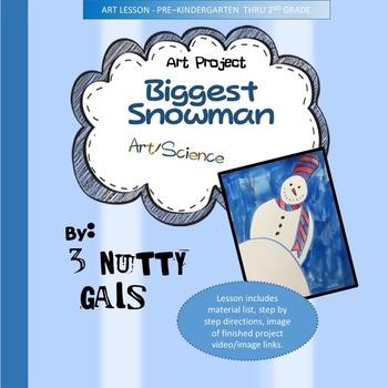 Snowman Art - The Biggest Snowman Art Lesson