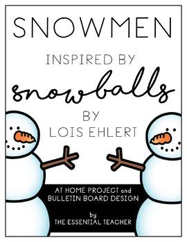 Snowmen- At Home Project plus Bulletin Board Decor