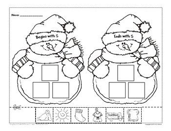Snowman Beggining/Ending Sound - Freebie!
