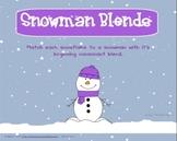 Snowman Blends for Smartboard