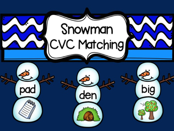 Snowman CVC Matching