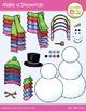 Snowman Clip Art:  Make Your Own Snowman