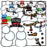 Snowman Clipart Bundle