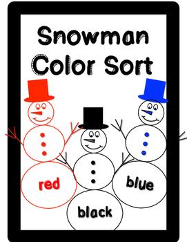 Snowman Color Sort