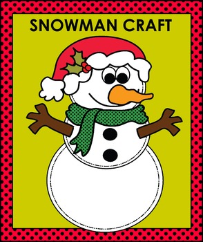 Snowman Craft One