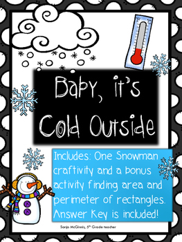 Snowman Craftivity + bonus
