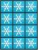 Snowman Glyph & Bar Graph for K-3 from Rainbows to Snowflakes
