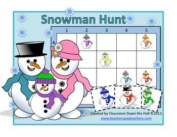 Snowman Hunt