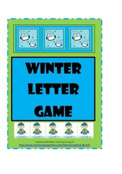 Letter Recognition, snowman, Color Words, Number Words