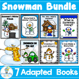WINTER Snowman MEGA Bundle-7 Adapted Books