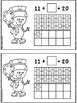 Snowman Make 20 Double Ten Frame Booklet