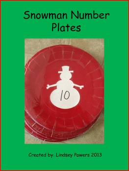 Snowman Number Plates