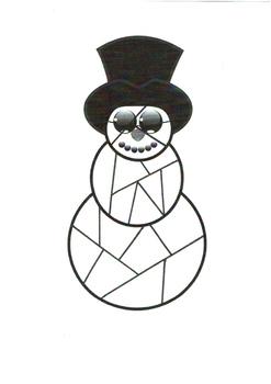 Fonzie The Snowman Puzzle