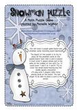 Snowman Puzzle Game
