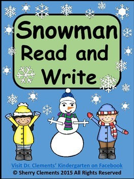 Snowman Read and Write