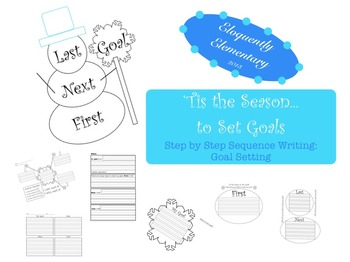 Snowman Sequence (Goal Writing)