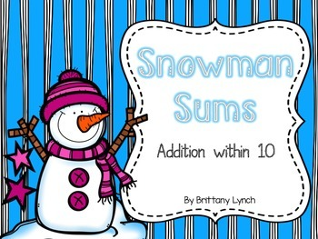Snowman Sums (Addition to 10)